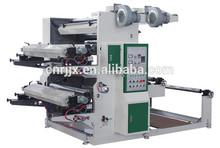 YT-2600 Normal speed 2 colors flexographic print PE film machine