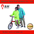 a prueba de lluvia de ciclismo para adultos poncho de lluvia con mangas largas