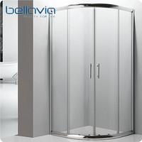 bright frame round wc toilet shower cabin 6511