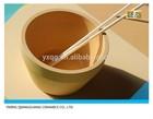 MgO-ZrO2 zirconia ceramic crucible for high tempreture