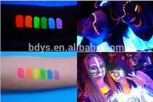Paint Glow Neon UV Bright Face & Body Paint Fluorescent Rave Festival 30gr/60gr