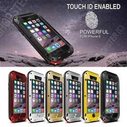 Waterproof Shockproof Aluminum Gorilla Metal Cover Case for iPhone 6 4.7 Plus 6