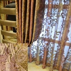 Elegant European Style Curtain Turkey For Living Room