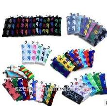 The long tide brand venetum skateboarding lovers stockings cotton socks