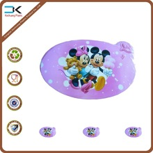 Cartoon design printing table mat for kids, pp plastic sheet