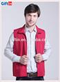 venda quente moda personalizado e impresso ou bordado mangas pena colete