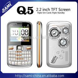 mini Q5 mobile phone TV mobile big speaker 2 sim or 3 sim mobile phone