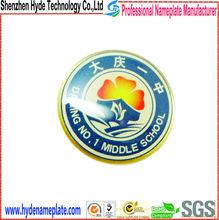 souvenir badge maker scool badge in metal