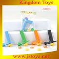 multifuncional plástico bala arma de brinquedo com ótimo preço