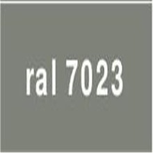 China Supply RAL7023 Concrete grey Semi Gloss Powder Coating