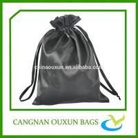 Wholesale drawstring satin bag