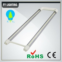 UL 600mm U shaped led t8 tube isolated driver cool white