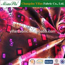 Sole apparel material 92% spandex velvet fabric for girl's leggings