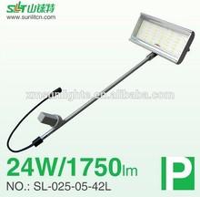 LED gooseneck light, LED trade show light, LED spotlight 1600-1800Lm 24W DC18-24V SL-025-42L