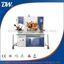 Int'l SLMT Famous Brand DreamWorld Q35YL-90 Hydraulic Iron Worker Machinery , channel cutting machine