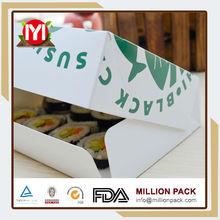cardboard paper sushi box, sushi take away box
