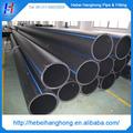 5.8m tube en pehd de longueur standard, tuyau de drainage hdpe