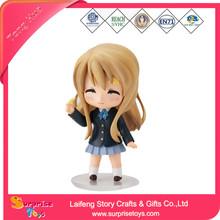 Little anime girl nude figurines