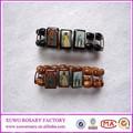 immagini di metallo colorato religione santo rosario braccialetto