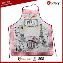 Hot selling cotton souvenir kitchen apron