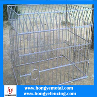 Hot Dip Reinforced Wire Mesh Fence Dog Cage