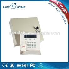 Factory price metal box gsm+pstn dual network home burglar security auto dial alarm system