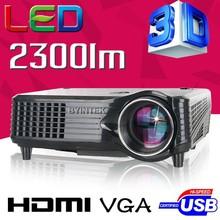 LCD Mini FUll hD Video 3D LED Projector Proyector Projetor Beamer