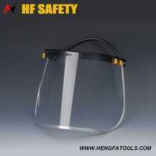 Face Shield CE and ANSI Standard plain plastic face mask