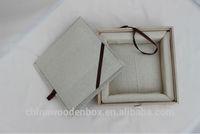 unique design unfinished wooden tea box wholesale hot sale
