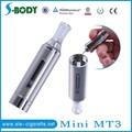 O cigarro eletrônico mini-atacado mt3 evod vaporizador vaporizador portátil