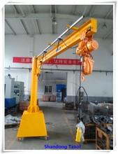 Tavol Brand BZ model Electrical Workshop Use Mobile Jib Crane