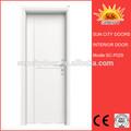 الداخلية الأبواب الخشبية البلاستيكية حمام غرفة نوم السعر sc-p029 المرحاض