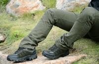 Cowhide meterial best quality mens waterproof salomon cheap hiking shoes