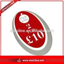 Sinicline Custom Silk Screen Hangtag for Apparels