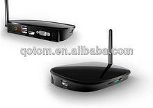 Mini Computer Thin Client PC QOTOM C52W supports 1080P dual display, RDP 7.1 protocol