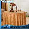 faux fur new design round good quality anti-slip table cloth