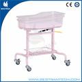 China proveedor bt-ab102 hospital de bebé cuna de enfermería cama cunainfantil del hospital bebé cuna de plástico de la cama de los niños