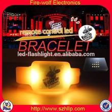 USA Music Festival Popular LED Lightings Hangzhou led bracelet remote control
