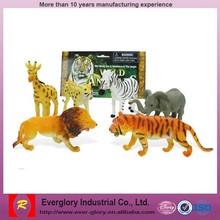 OEM design creative toys factory, figurine animal toys