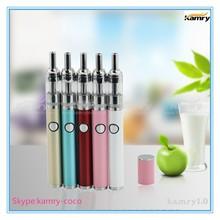 Super fashion design lady slim e cig portable vaporizer pen kamry1.0
