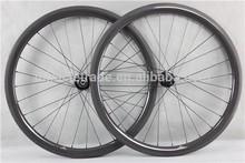 3k- เงาจีนชิ้นส่วนจักรยานคาร์บอนwheelsetจักรยานกับกว้างwdgew40c
