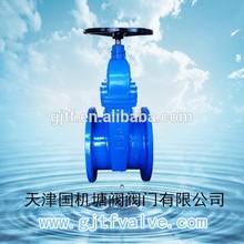 ductile iron pneumatic slide non-rising stem dn80 gate valve