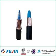 Novelties goods from china lipstick shape highlighter pen gifts novelty stationery