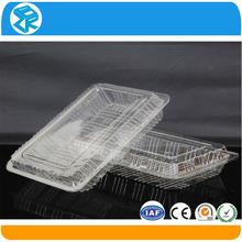 Práctico de envasado de alimentos biodegradable recipientes de plástico made in China