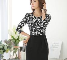 MS51320W mature woman dress korean design wholesale clothing suppliers