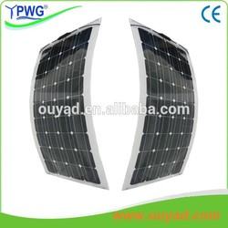 150 Watt semi flexible solar panel, solar module