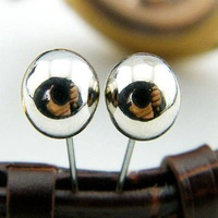 Top Design Alibaba online wholesale Jewelry Fashion 2015 ball stud earrings daily wear earrings