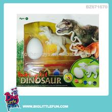 DIY painting toy dinosaur egg and dinosaur
