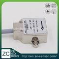 Barato ceia mini tamanho carcaça de alumínio IP 67 à prova de água 1 axis digital mems saída nível instrumentos de medição