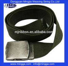 2015 Custom new design webbing and canvas belts